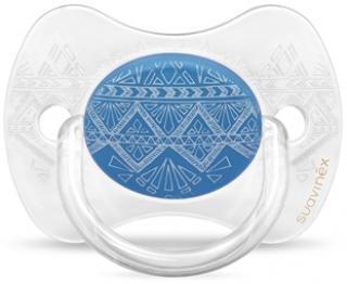 SUAVINEX Premium Cumlík fyziologický  – tmavomodrý modrá