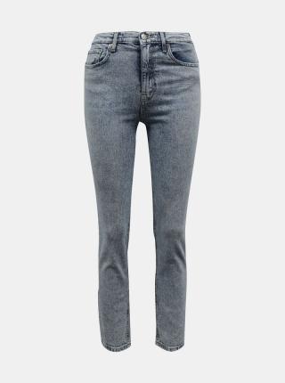 Svetlo šedé straight fit džínsy TALLY WEiJL - XXS dámské XXS