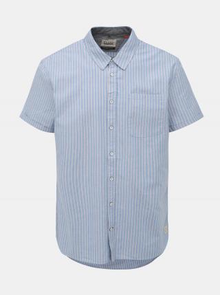 Svetlomodrá pruhovaná regular fit košeľa Blend pánské M