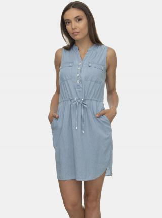 Svetlomodré šaty Ragwear dámské svetlomodrá M
