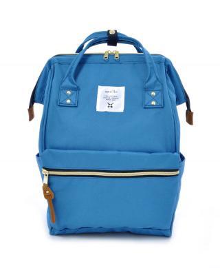 Svetlomodrý batoh Anello 18 l dámské modrá
