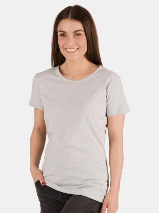 Svetlošedé dámske tričko SAM 73 dámské svetlosivá S