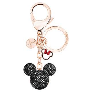 Swarovski Bronzový prívesok na kľúče Mickey & Minnie 5435473