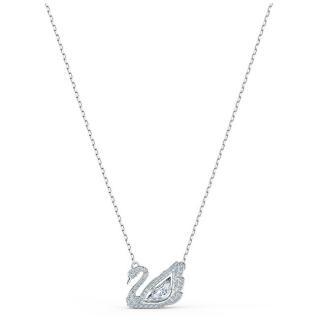 Swarovski Luxusné náhrdelník s labuťou Dancing SWAN 5514421