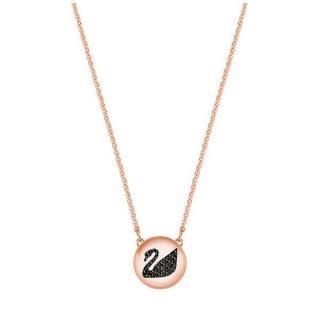 Swarovski Módne náhrdelník s labuťou Hall SWAN 5382446