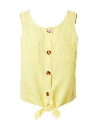 TAIFUN Blúzka  žltá dámské S