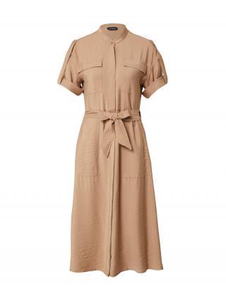 TAIFUN Košeľové šaty  svetlohnedá dámské 36