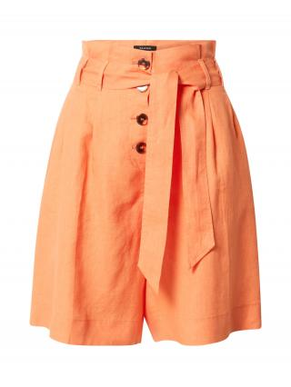 TAIFUN Nohavice s pukmi  oranžová dámské 34