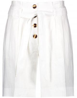 TAIFUN Plisované nohavice  biela dámské 40