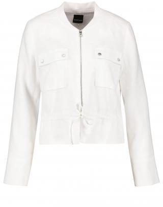 TAIFUN Prechodná bunda  biela dámské L
