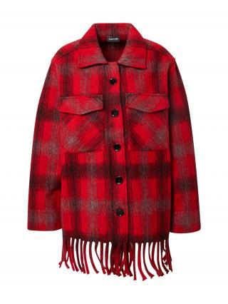 TAIFUN Prechodná bunda  červená / čierna dámské M