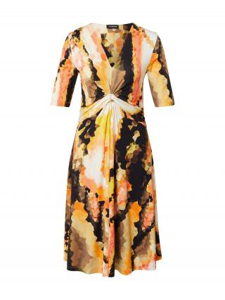 TAIFUN Šaty  čierna / zmiešané farby dámské 34