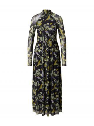 TAIFUN Šaty  ultramarínová / zmiešané farby dámské 34