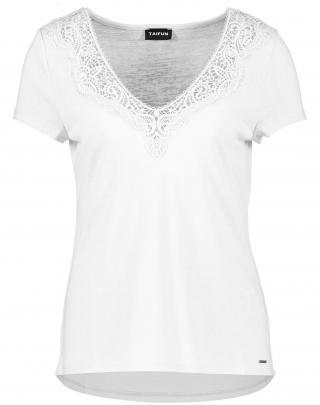 TAIFUN Tričko  biela dámské S