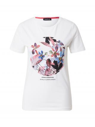 TAIFUN Tričko  biela / zmiešané farby dámské M
