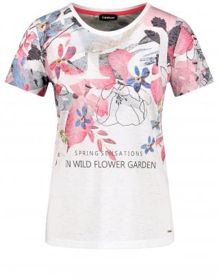 TAIFUN Tričko  biela / zmiešané farby dámské S