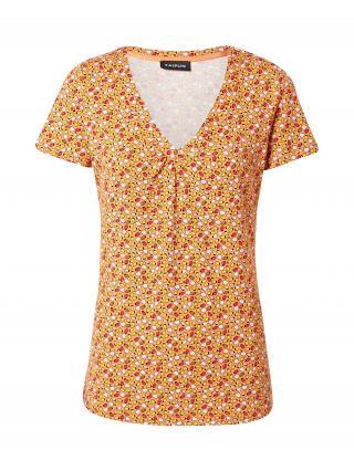 TAIFUN Tričko  oranžová / žltá / biela / fuksia / hnedá dámské XS