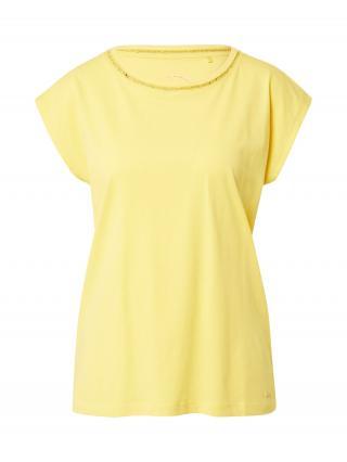 TAIFUN Tričko  žltá dámské XS