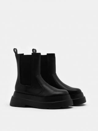 Tally Weijl čierne na platforme topánky - 37 dámské čierna 37