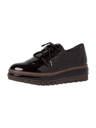 TAMARIS Šnurovacie topánky  čierna dámské 40