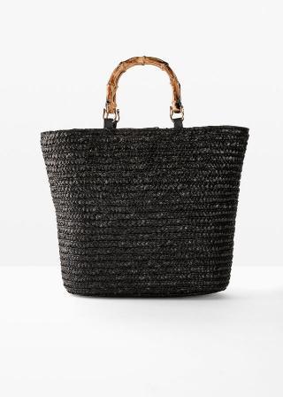 Taška shopper dámské čierna