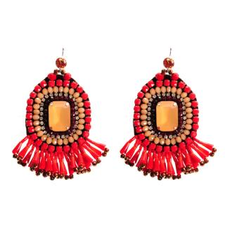 Tatami Womans Earrings We1659R dámské Red One size
