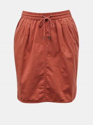 Tehlová sukňa s vreckami ZOOT Baseline Otelia dámské XL