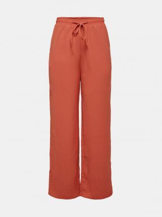 Tehlové nohavice ONLY dámské tehlová M