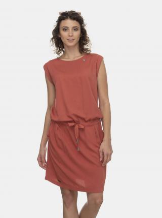 Tehlové šaty Ragwear Mascarpone - M dámské oranžová M