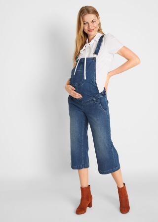 Tehotenské džínsy dámské modrá 34,36,38,40,42,44,46,48,50,52