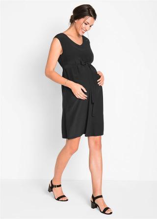 Tehotenské šaty dámské čierna 34,36,38,40,42,44,46,48,50,52