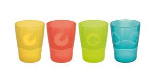 Tescoma poháriky DINO 220 ml, 4 ks