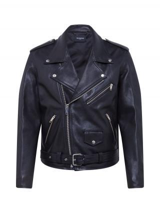 The Kooples Prechodná bunda  čierna pánské S