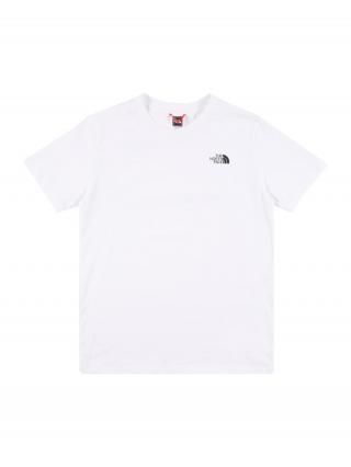 THE NORTH FACE Funkčné tričko  biela / čierna pánské 110-122