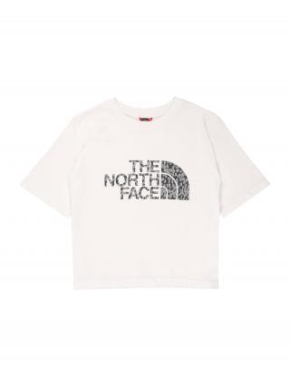 THE NORTH FACE Funkčné tričko  biela / čierna / sivá dámské 124-134