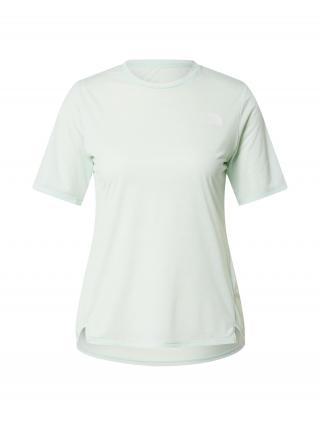 THE NORTH FACE Funkčné tričko  mätová / biela dámské XS