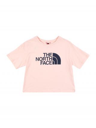 THE NORTH FACE Funkčné tričko  ružová / čierna dámské 110-122