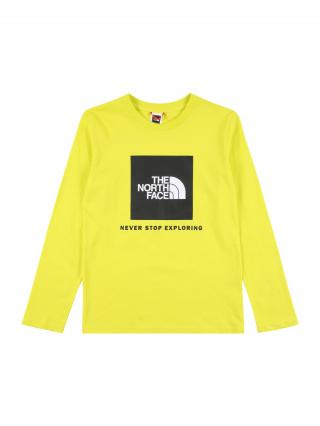 THE NORTH FACE Funkčné tričko  žltá / čierna / biela pánské 110-122