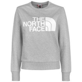 THE NORTH FACE Mikina  sivá melírovaná / biela dámské XL