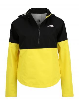 THE NORTH FACE Outdoorová bunda ARQUE  čierna / žltá dámské S
