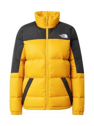 THE NORTH FACE Outdoorová bunda DIABLO  zlatá žltá / biela / čierna dámské XS