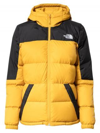 THE NORTH FACE Outdoorová bunda DIABLO  zlatá žltá / čierna / biela dámské XS