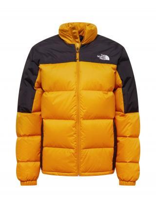 THE NORTH FACE Outdoorová bunda DIABLO  žltá / čierna / biela pánské M