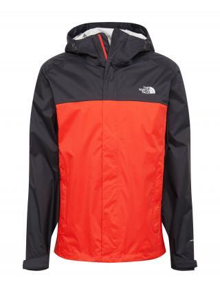 THE NORTH FACE Športová bunda VENTURE  čierna / červená pánské S