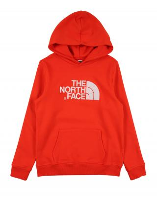 THE NORTH FACE Športová mikina DREW PEAK  biela / svetločervená pánské 124-134