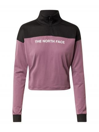 THE NORTH FACE Športová mikina  fialová / čierna dámské XS