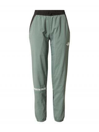 THE NORTH FACE Športové nohavice  smaragdová / biela / čierna dámské M