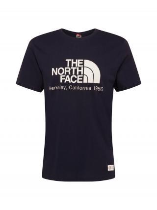 THE NORTH FACE Tričko BERKELEY CALIFORNIA  námornícka modrá / biela pánské S