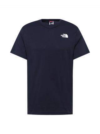 THE NORTH FACE Tričko Red Box  námornícka modrá / biela / čierna pánské S