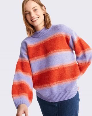 Thinking MU Mauve Lada Knitted Sweater MAUVE L dámské Fialová L